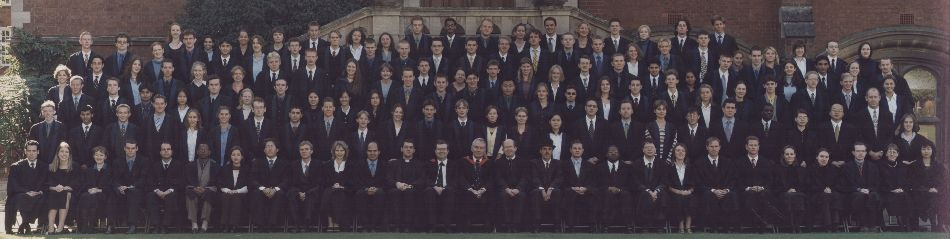 1999 matriculation photo