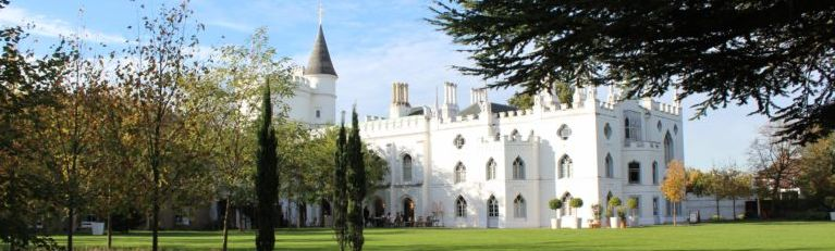 Strawberry Hill House and grounds